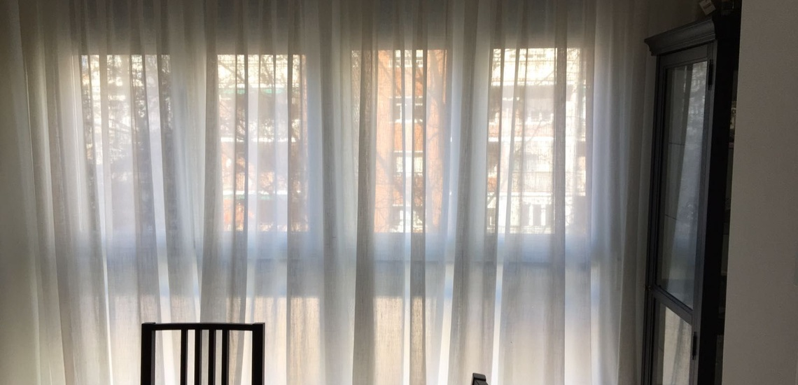 Confección de cortinas a medida en Nuevos Ministerios, Madrid
