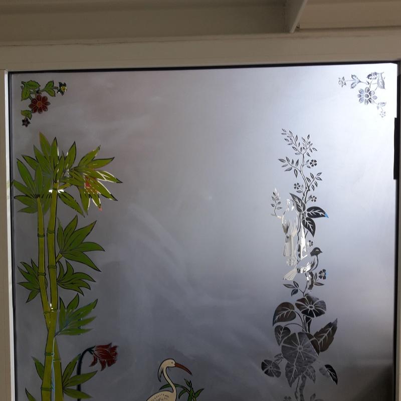 Vidrio decoración grabada: Servicios de Cristalería La Herradura