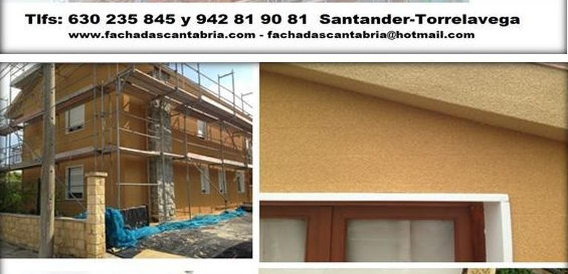 Reparación de fachada en vivienda unifamiliar en Cantabria