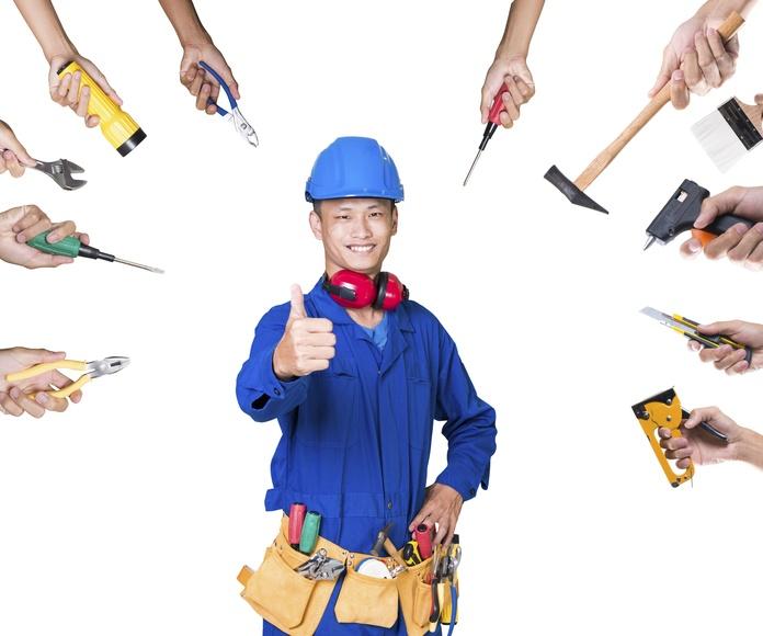 Coordinación de gremios: Servicios de Construcciones David Rodríguez