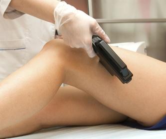 Tratamientos anticelulíticos, tonificantes y reafirmantes: Servicios de Estymas