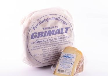 Paquete queso Grimalt semi  0,400-0,500 Kg