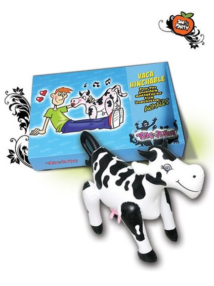 VACA HINCHABLE MUSICAL *OFERTA*: CATALOGO DE PRODUCTOS de SEX MIL 1