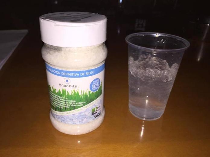 ¿Qué es el poliacrilato de potasio?: Características del producto de AquaRevits
