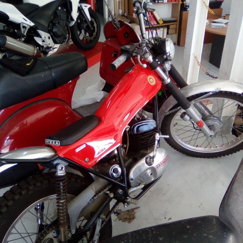 Restauraciones y preparaciones: Servicios de Isracing Motos