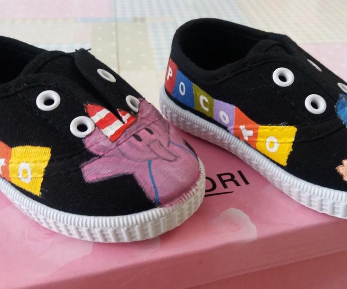 zapatillas Pocoyo