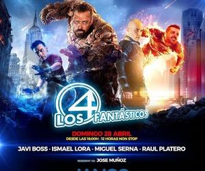 Javi Boss, Miguel Serna, Ismael Lora y Raúl Platero en Jango XL