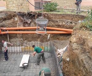 Construcción de aljibe en Malaga