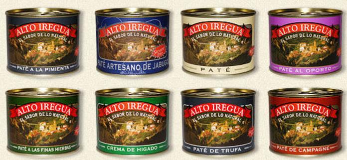 Patés artesanos: Catálogo de Patés Artesanos y Embutidos Alto Iregua