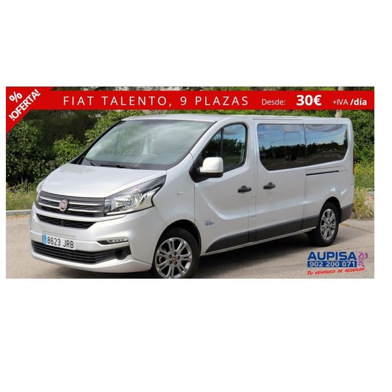 Fiat Talento family: Vehículos de Ocasión de AUPISA Rent   Tu vehículo de alquiler