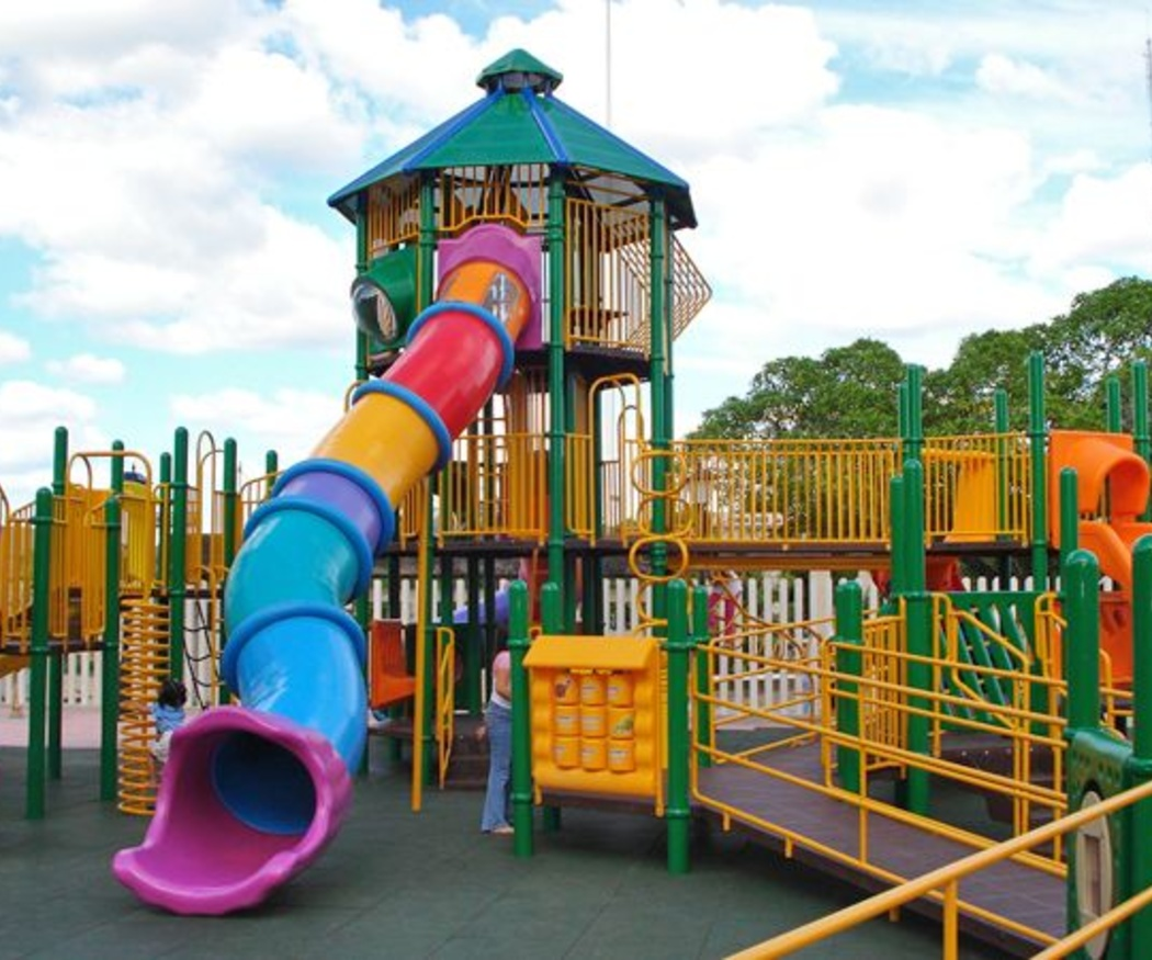 La importancia del parque infantil