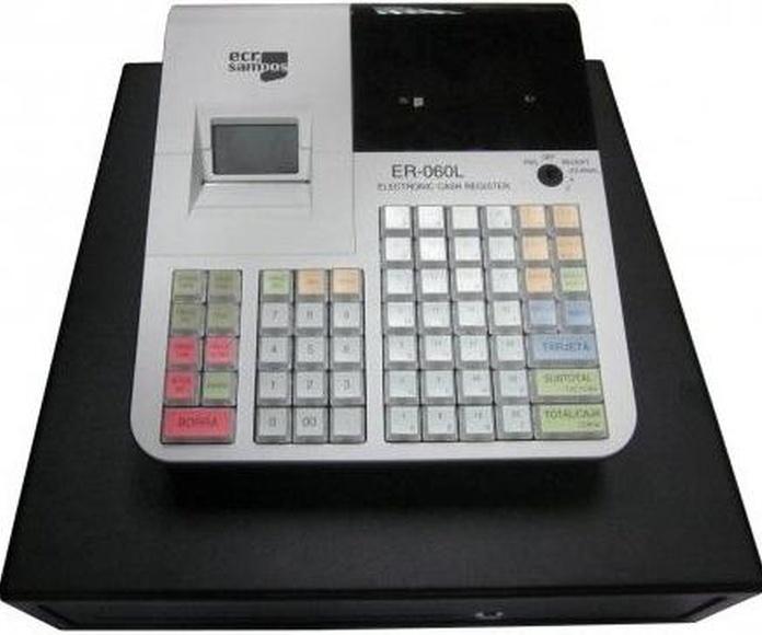 ECR SAMPOS ER-60: Productos y Servicios de Inosca
