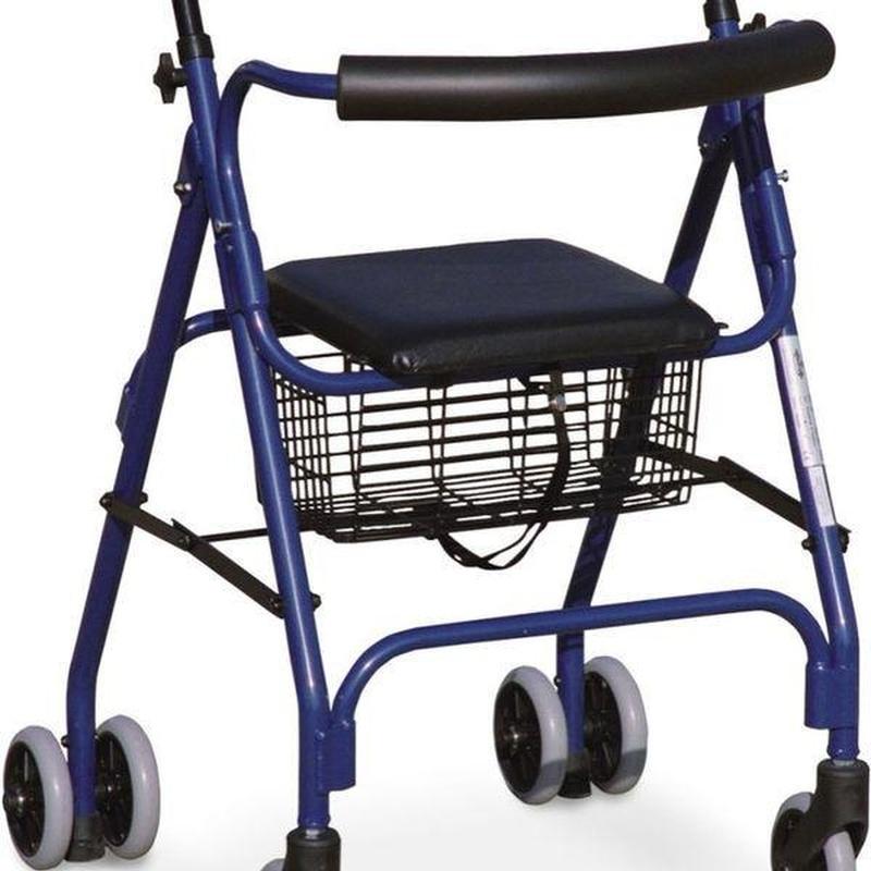 Andadores aluminio con asiento