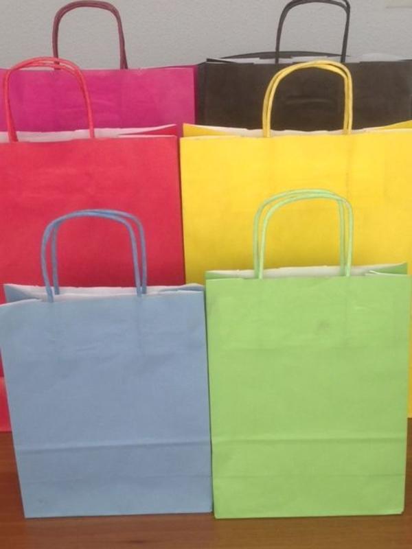 Bolsa asa retorcida: Productos de Plásticos Yolanda
