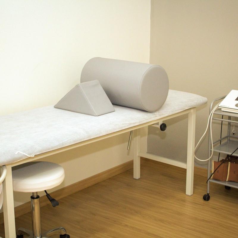Electroterapia: Tratamientos de Clínica Fisioterapia Ana B. Quintana
