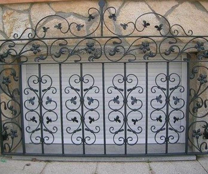 Rejas fijas: PRODUCTOS de Carpintería Metálica Granada, S.L.