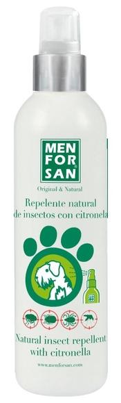 Repelente de insectos natural para perros