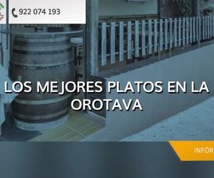 Dónde comer en La Orotava | Tasca Villera