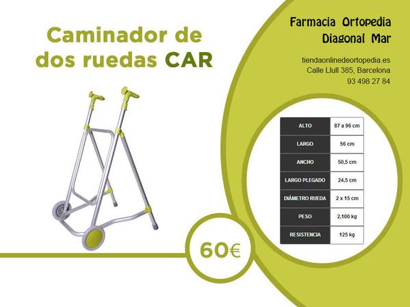 Caminador barcelona 60 euros