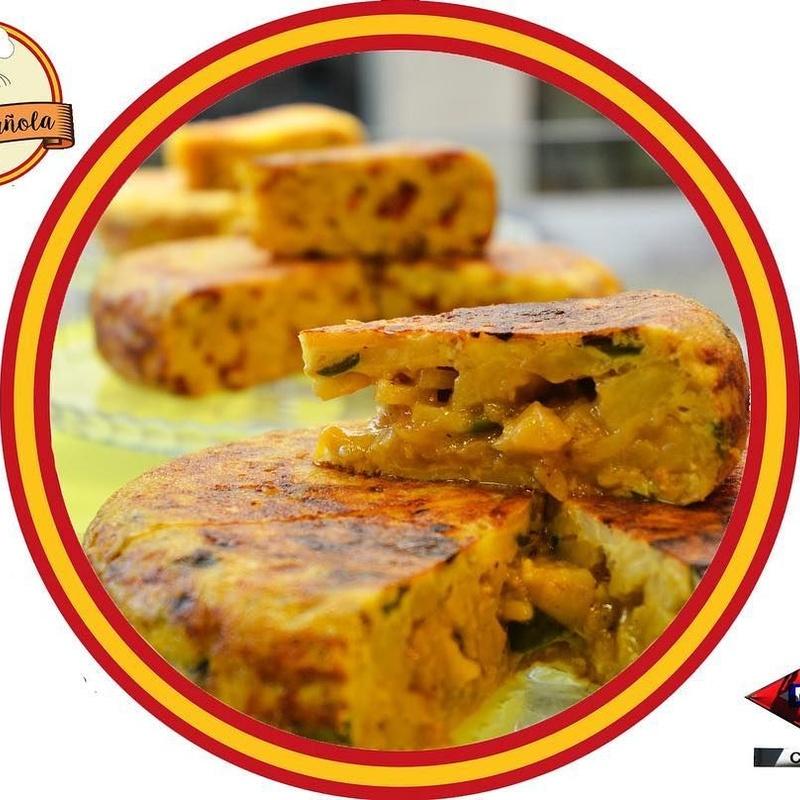 Tortillas: Tapas de Tapa Española