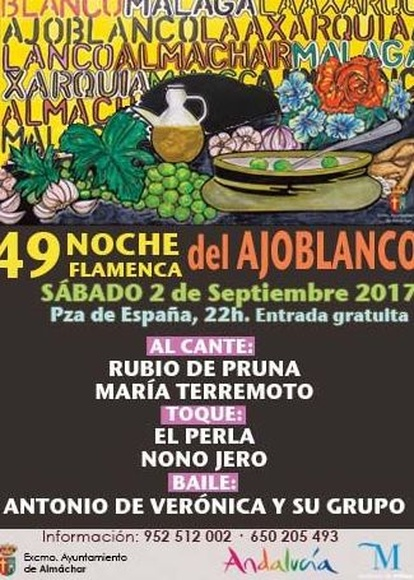 Fiesta del Ajoblanco en Almáchar 2017