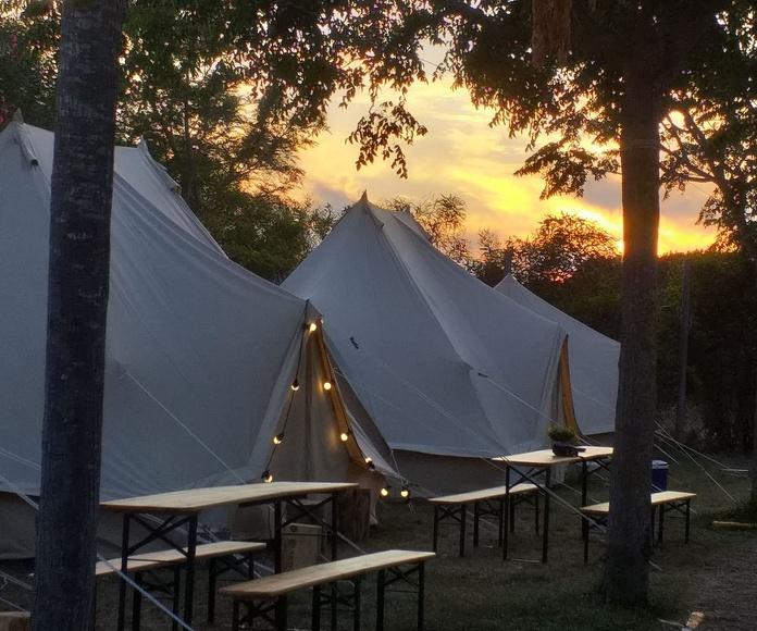 tienda Emperador: Servicios de Camping Faro de Trafalgar