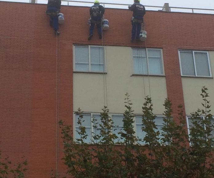 Trabajos de impermeabilizacion Salamanca