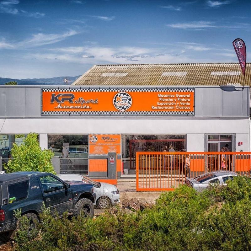 Mecánica rápida: Servicios de KR Sport Automoción