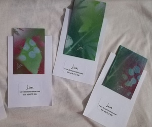 Marcapàginas pintados por Lira. Una pequeña ventana a la naturaleza de Lira para tus lecturas. Sujección con imanes interiores.