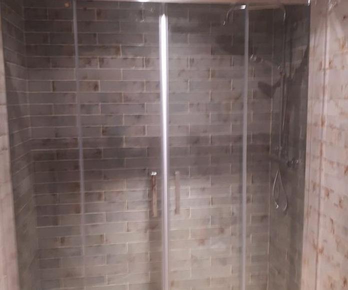 Reforma completa de cuarto de baño