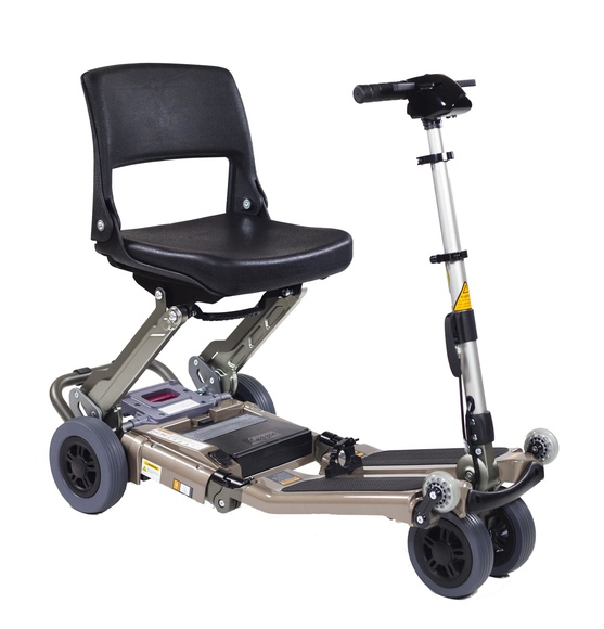 Scooter plegable Luggie: Catálogo de MSB Mundo Sin Barreras