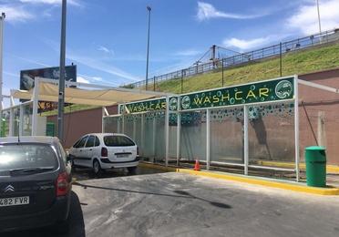 Túnel de lavado de vehículos
