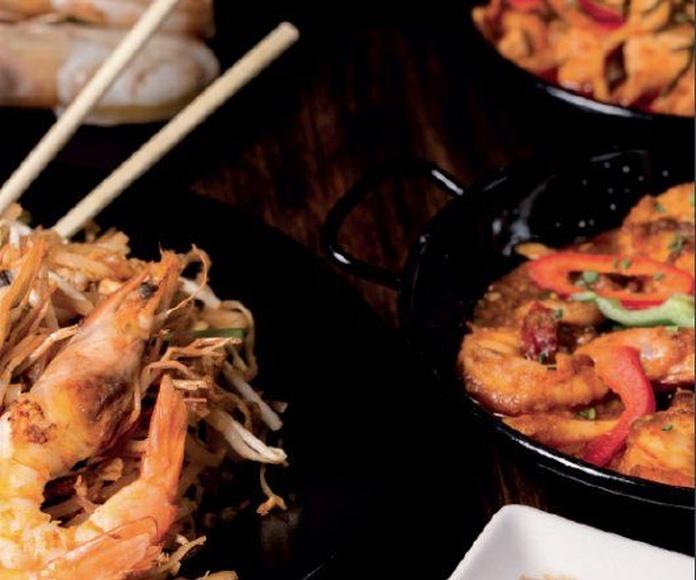 Wok: Carta de Prik Thai Restaurant