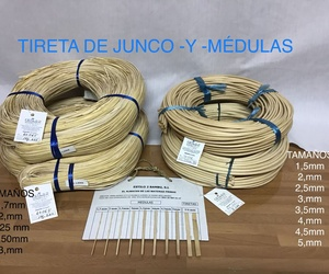 Tireta de junco y médula