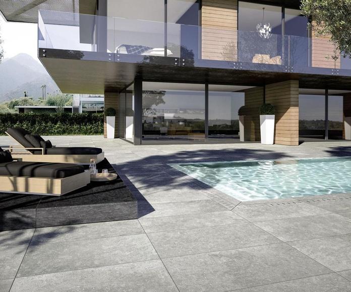 Mystone Bluestone20 - exterior - piscina