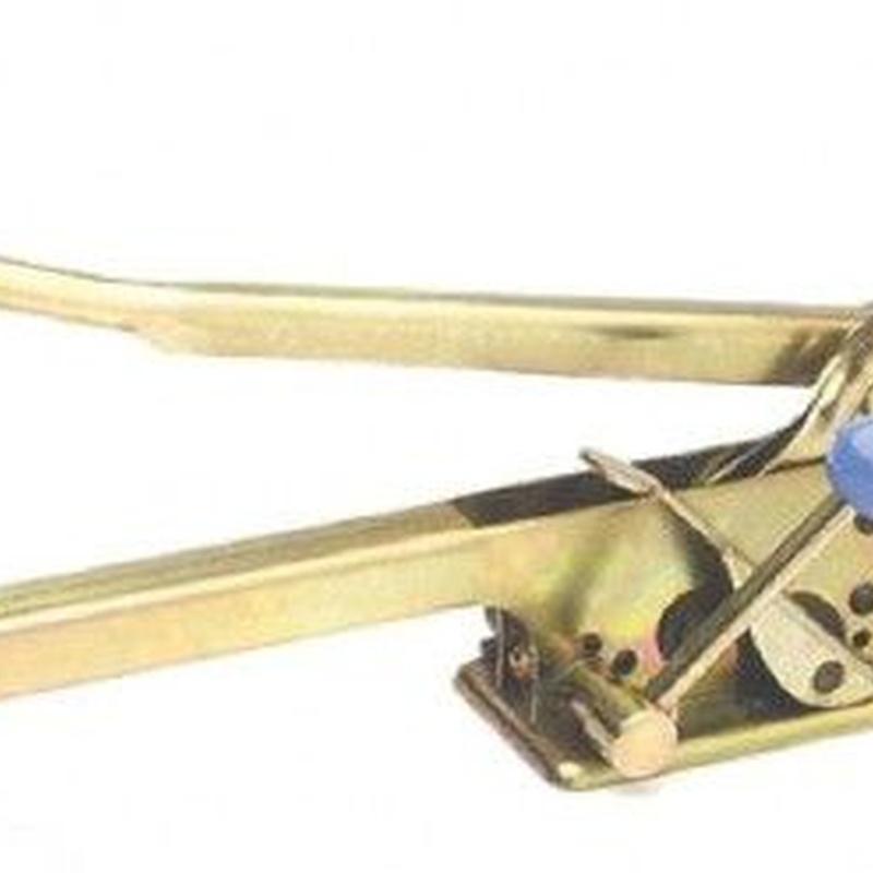 Herramientas fleje plástico manuales: Productos de Sistemas de Embalaje Miguel D, S.L.