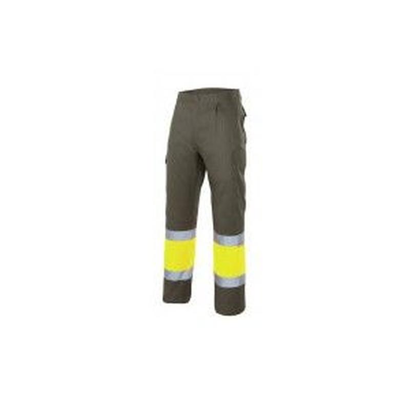 Serie 157C / Pantalón bicolor alta visibilidad: Nuestros productos  de ProlaborMadrid