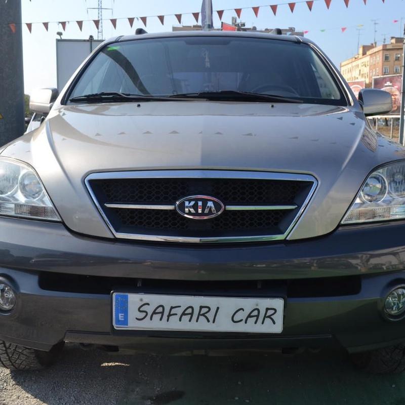 Kia Sorento 2.5CRDI EX: Nuestros coches de Safari Car