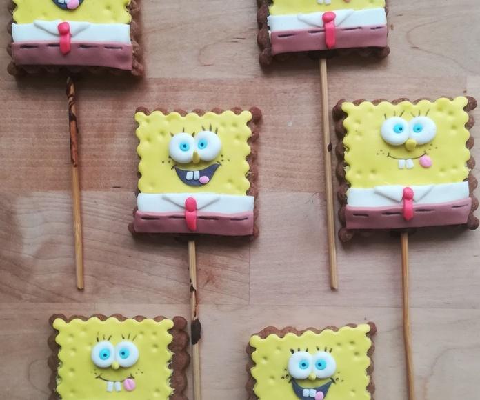 galletas bob esponja