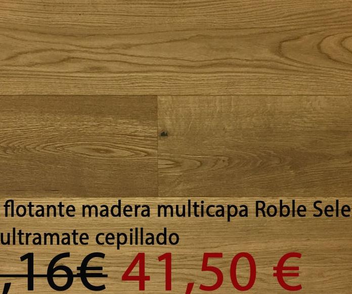 Tarima madera multicapa 1 lama selecto cepillado