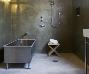 Microcemento en baños - la nueva moda en revestimientos.