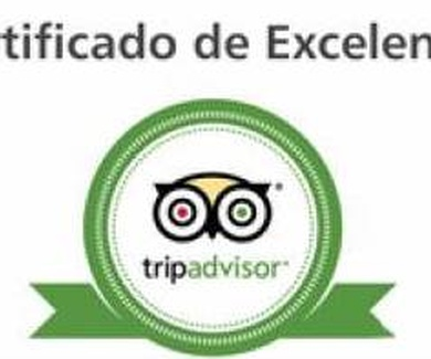 Certificado de Excelente Tripadvisor