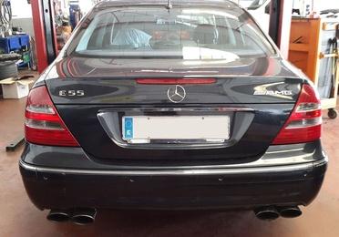 Mercedes E55 AMG GLP