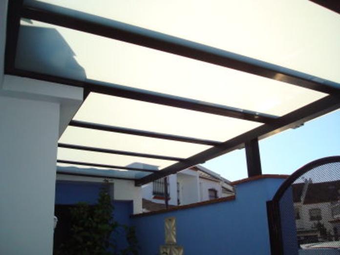 Techos con cristal: Catálogo de Aluminios Aludecor Marbella