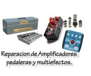 Reparación de amplificadores pedaleras y multiefectos