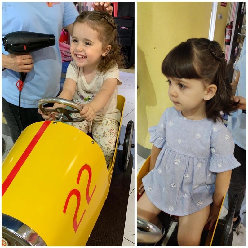 peluqueria infantil AL TROTE