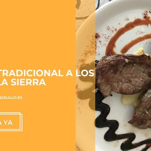 Comidas para grupos en Frailes | Restaurante Angelillo