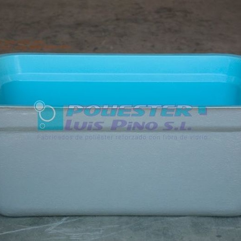 Depósitos de agua potable: Servicios y Productos de Poliéster Luis Pino