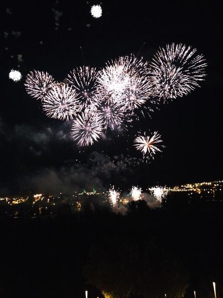 Fuegos artificiales Salamanca 2016