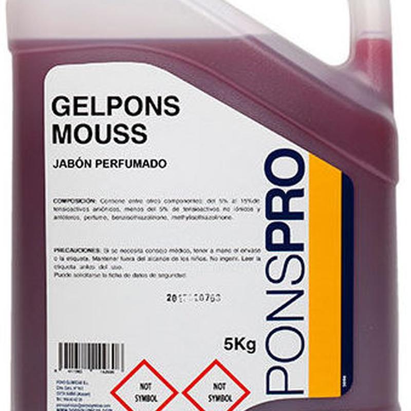 GELPONS MOUSS: Productos y servicios de Prieto Larrey